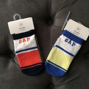 Bundle of Baby Gap Color Block Ankle Socks | NWT